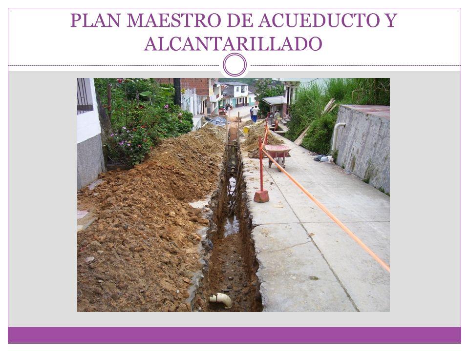 PLAN MAESTRO DE ACUEDUCTO Y ALCANTARILLADO