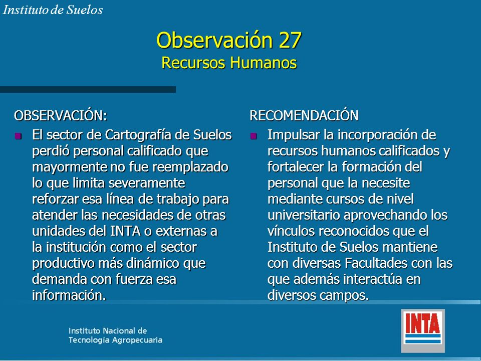 Observación 27 Recursos Humanos