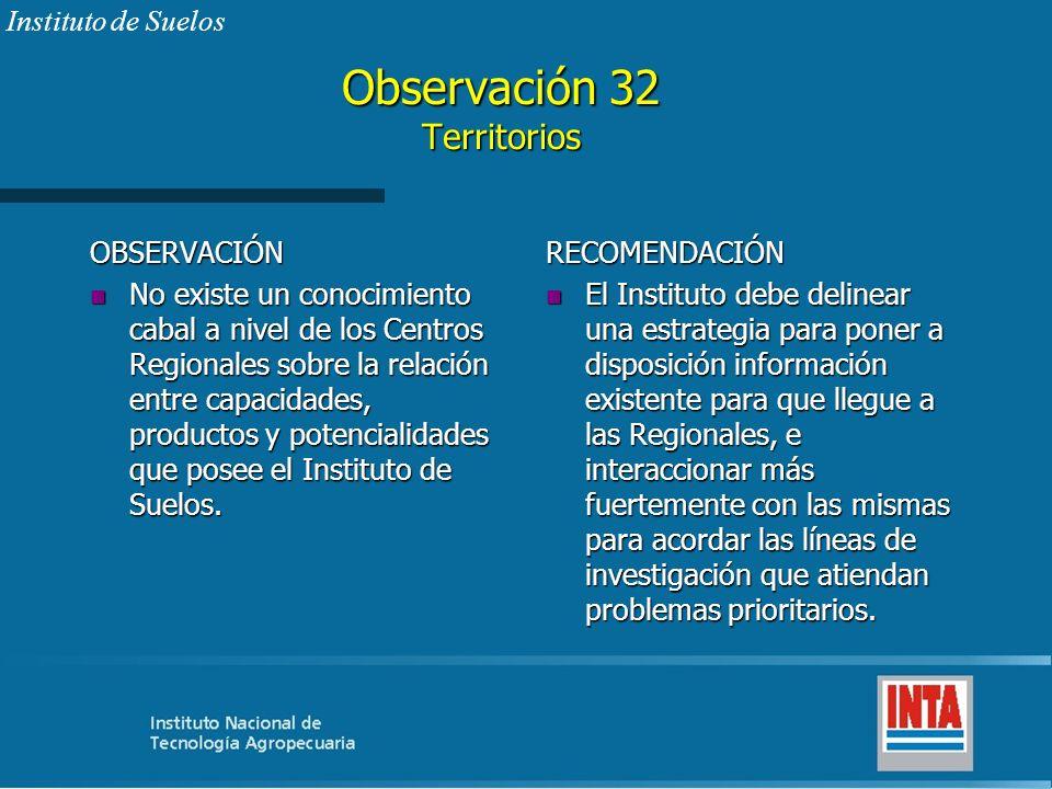 Observación 32 Territorios