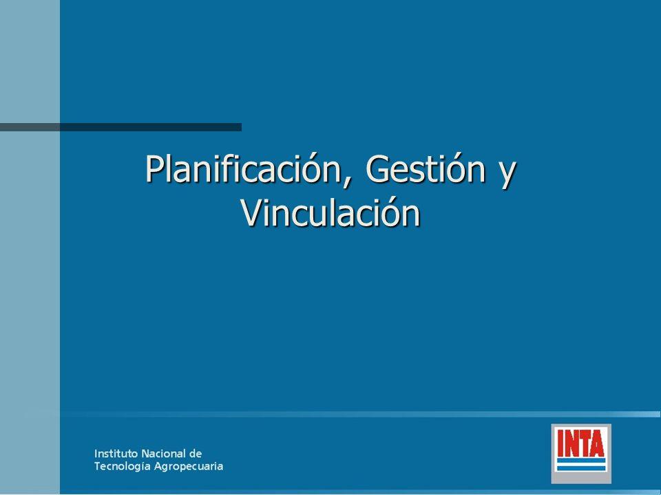 Planificación, Gestión y Vinculación