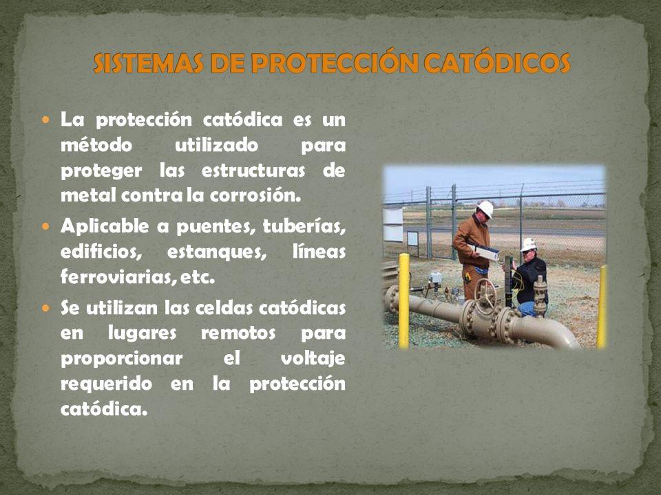 Sistemas de protección catódicos