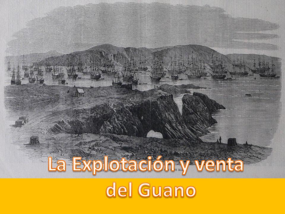 La Explotación y venta del Guano