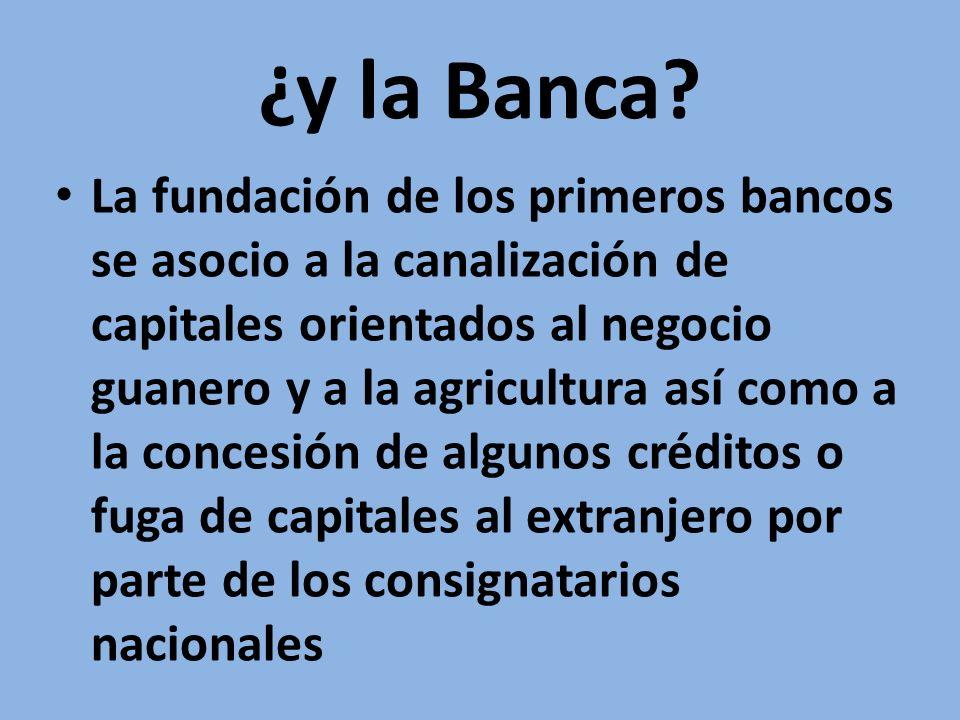 ¿y la Banca