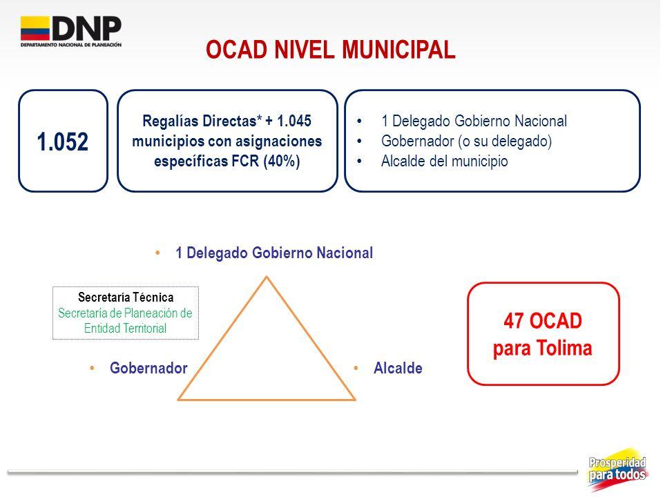 1 Delegado Gobierno Nacional