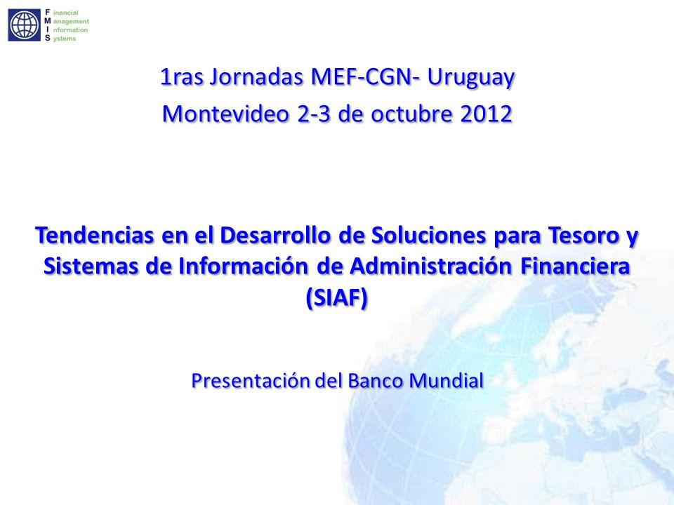 Contenido Jornadas MEF-CGN 2012 Terminología del SIAF