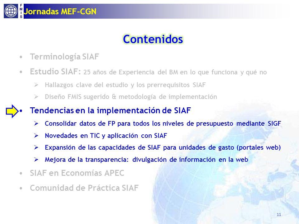 Consolidando datos de FP a través de SIAF