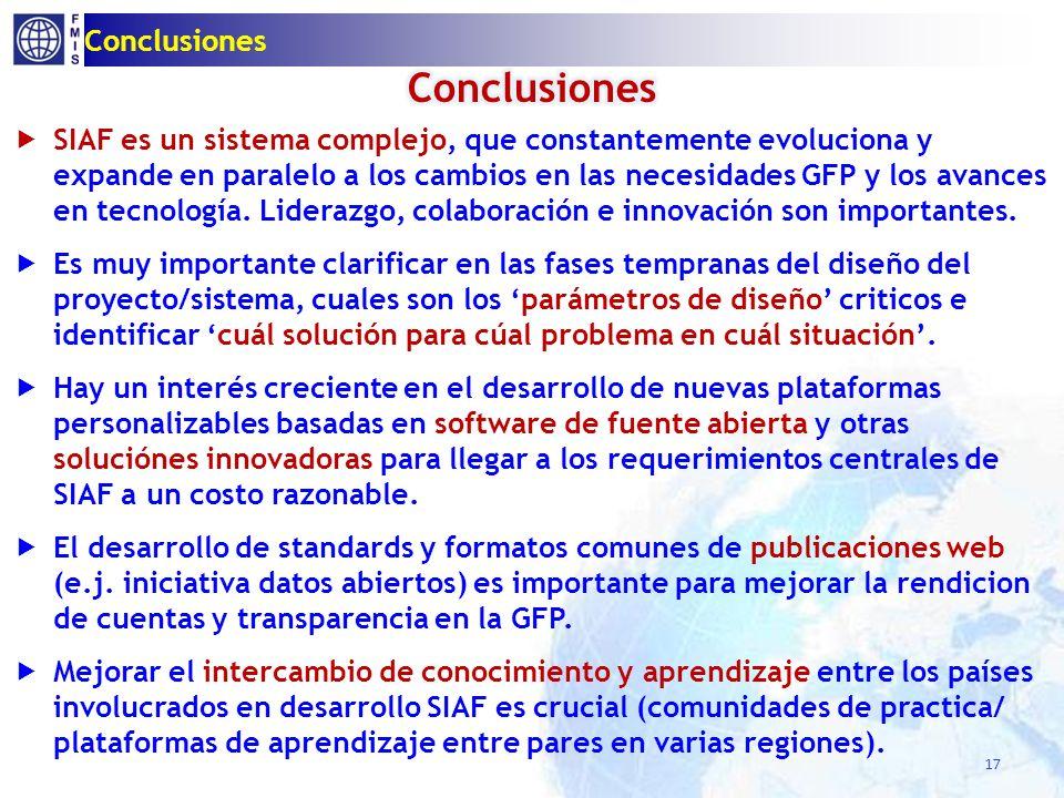 Contenido SIAF EN LAC 2012 Terminología SIAF