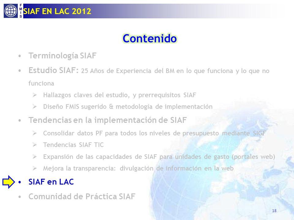 Sistema Integrado de Administracion Financiera (SIAF)