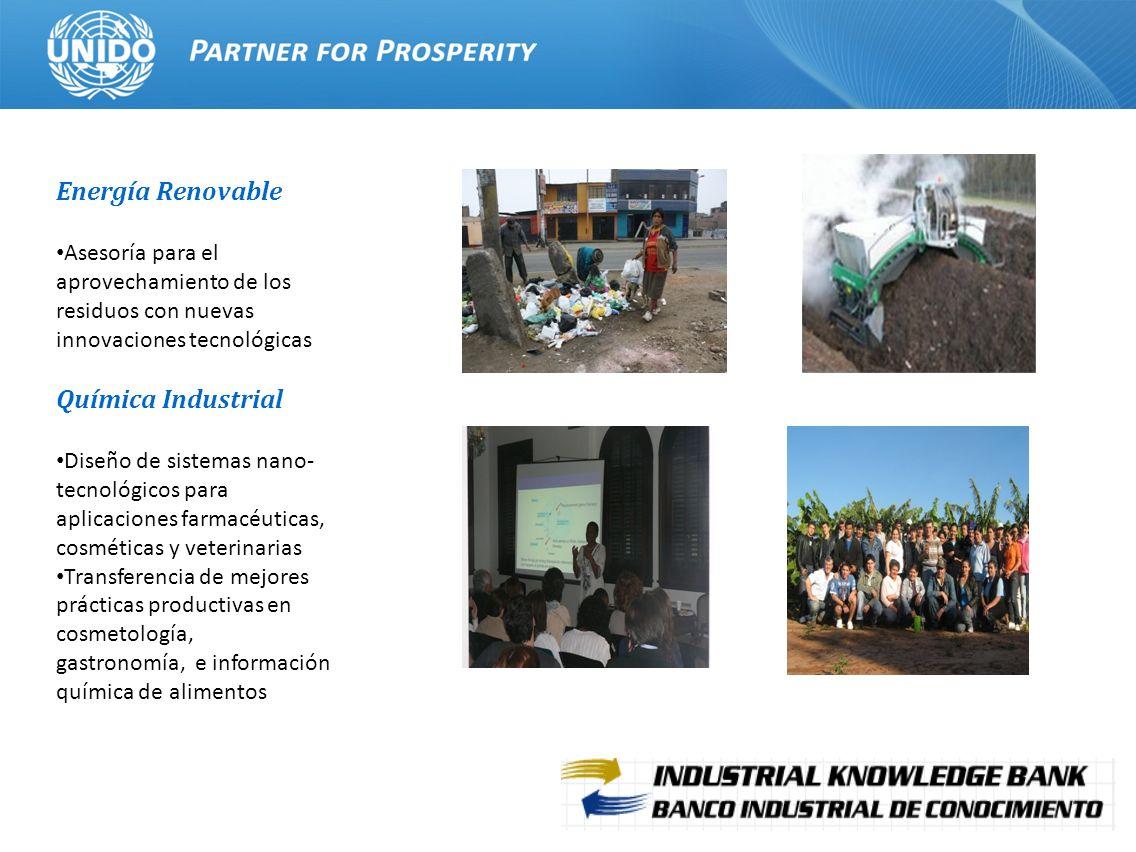 Energía Renovable Química Industrial