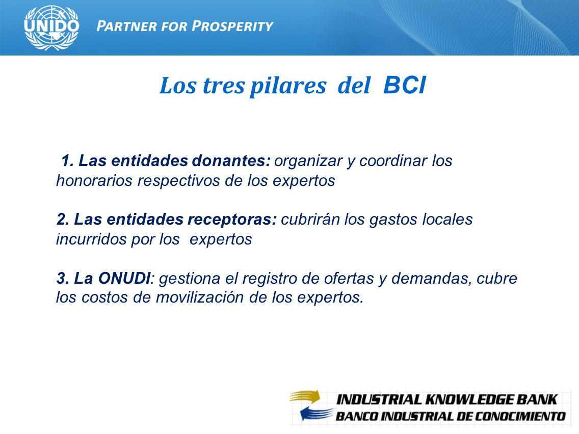 Los tres pilares del BCI
