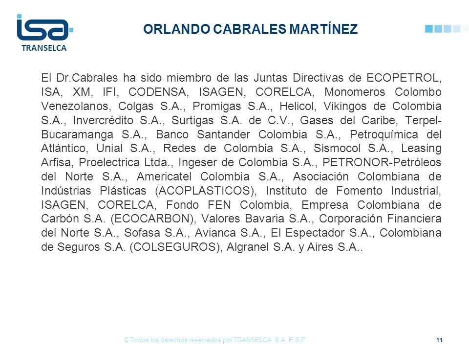 ORLANDO CABRALES MARTÍNEZ