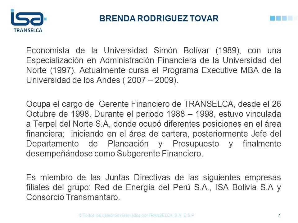 BRENDA RODRIGUEZ TOVAR