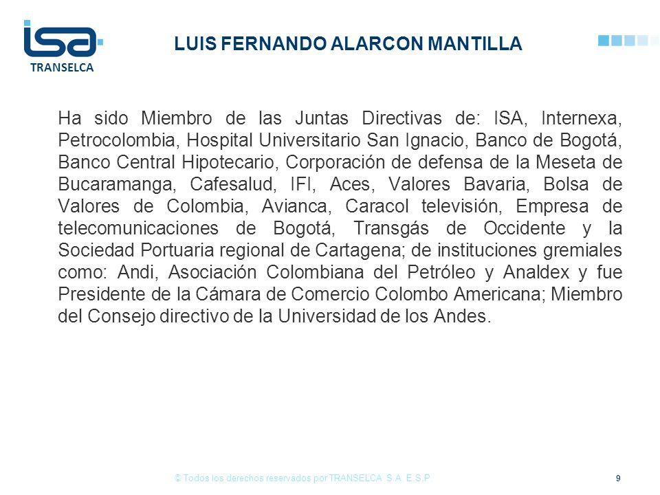 LUIS FERNANDO ALARCON MANTILLA