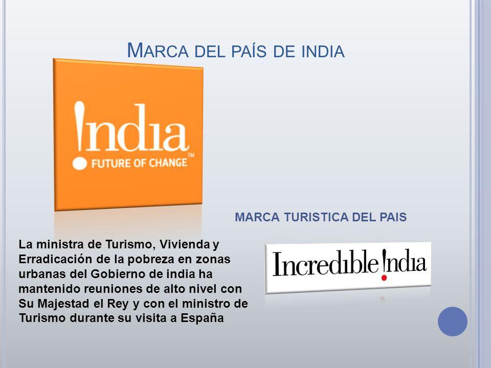 Marca del país de india MARCA TURISTICA DEL PAIS