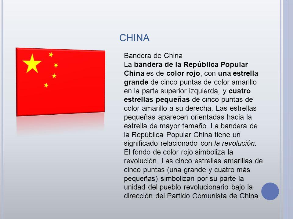 china Bandera de China.
