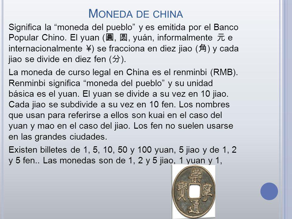 Moneda de china