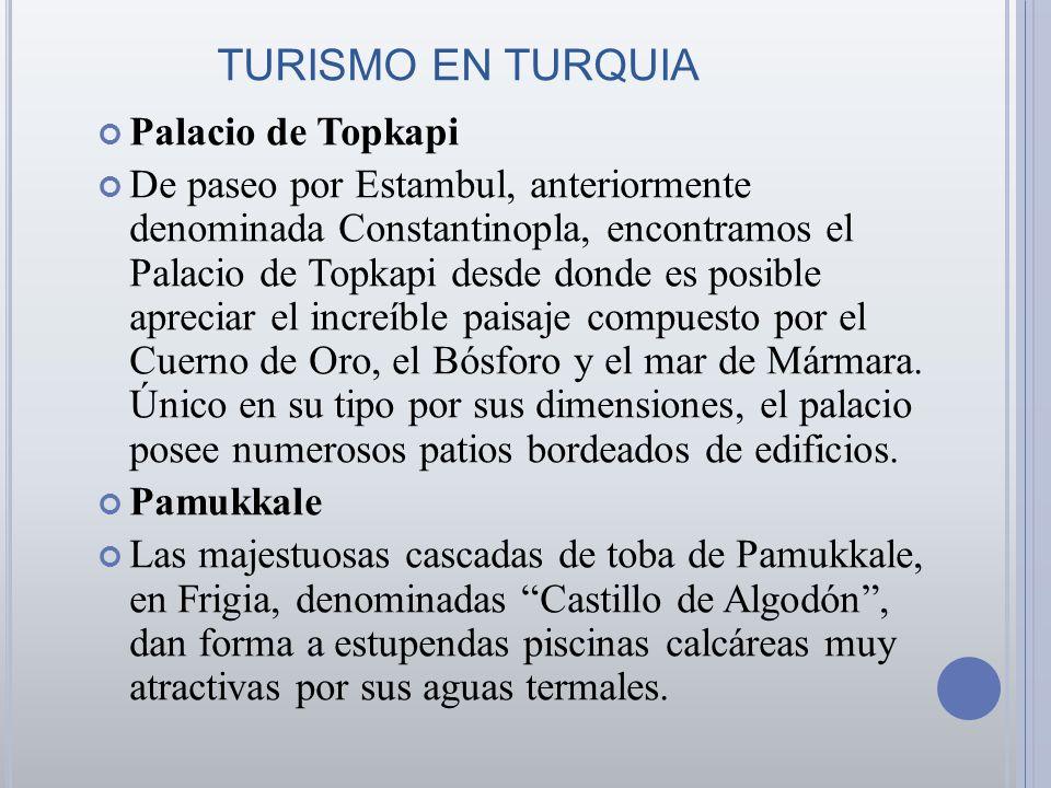 TURISMO EN TURQUIA Palacio de Topkapi