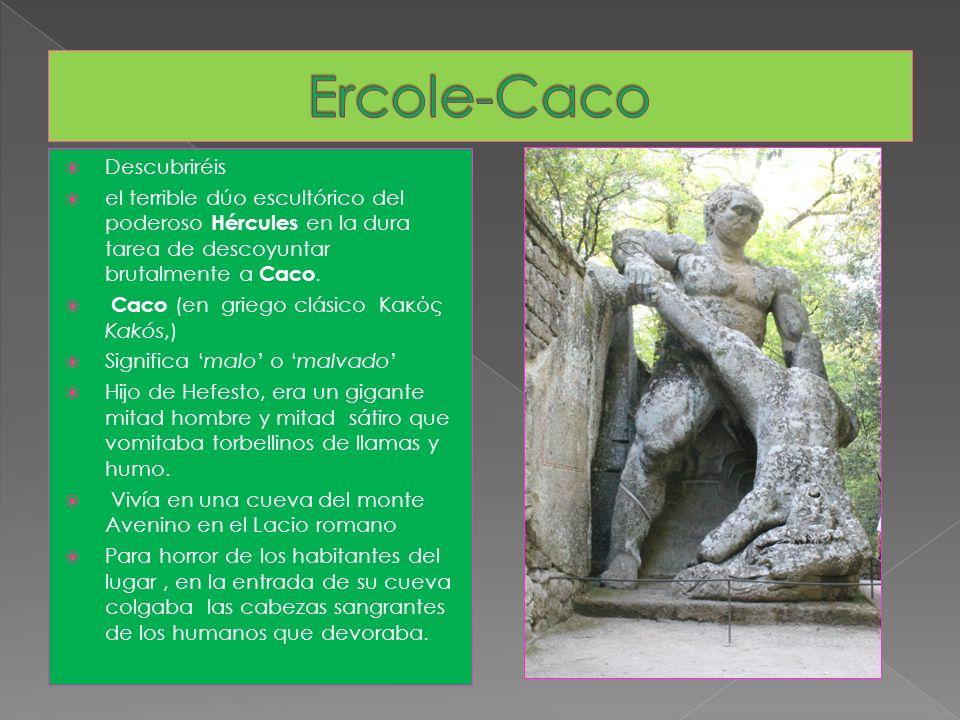 Ercole-Caco Descubriréis