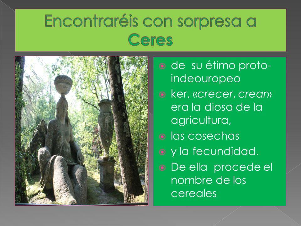 Encontraréis con sorpresa a Ceres