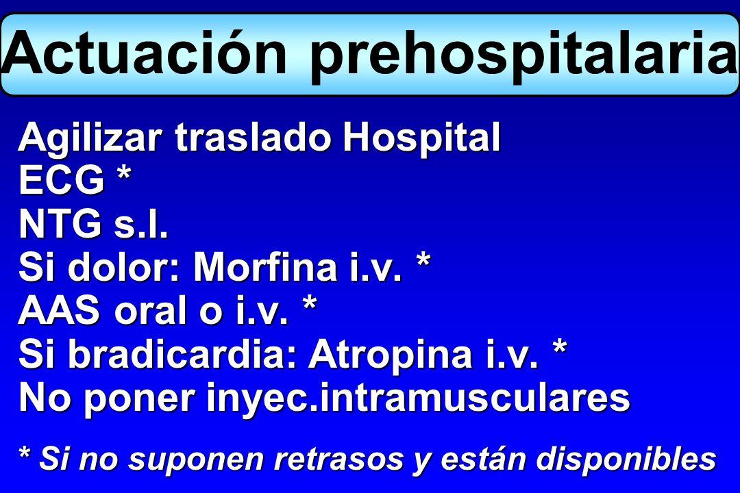 Actuación prehospitalaria