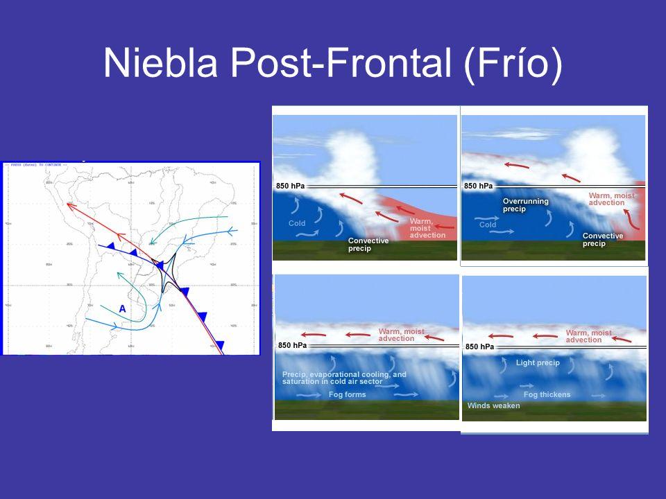 Niebla Post-Frontal (Frío)