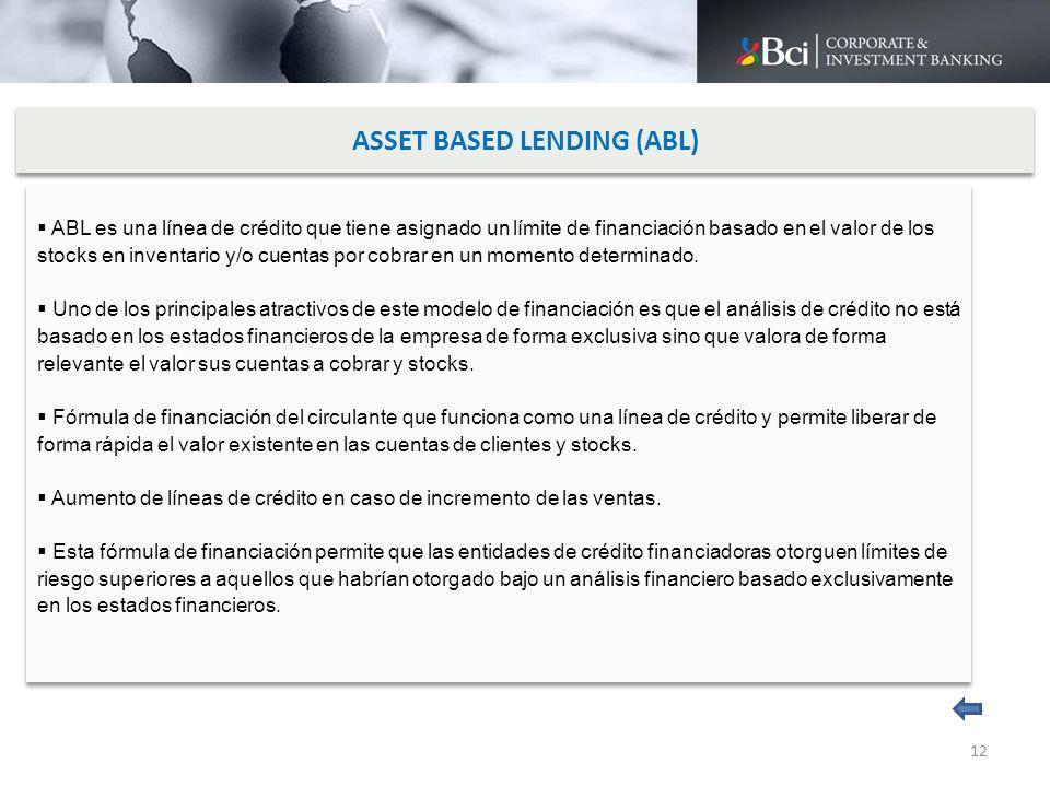 ASSET BASED LENDING (ABL)