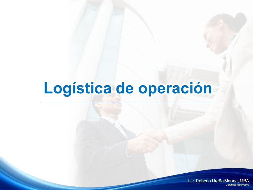 Logística de operación
