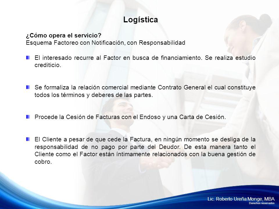 Logística ¿Cómo opera el servicio