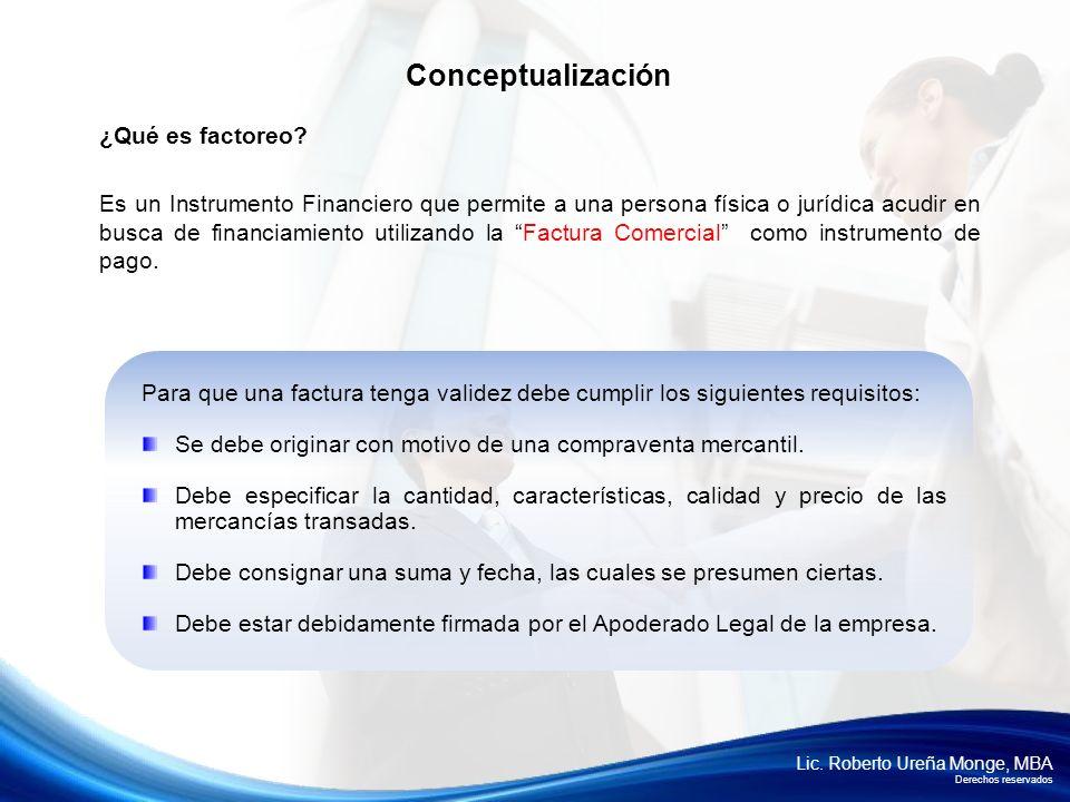Conceptualización ¿Qué es factoreo