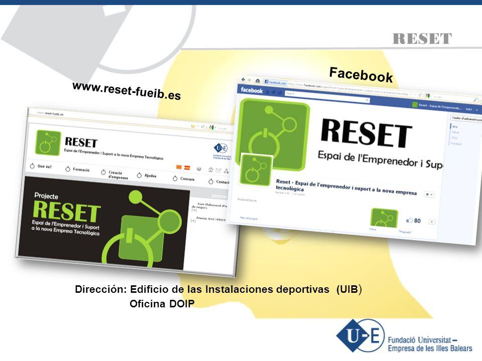 RESET Facebook www.reset-fueib.es Oficina DOIP