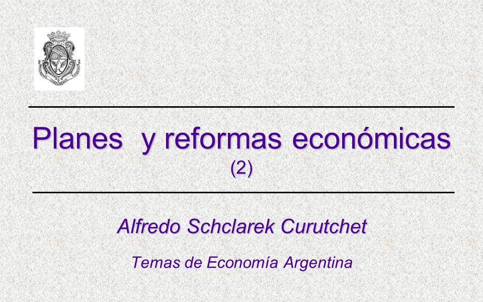 Planes y reformas económicas (2)