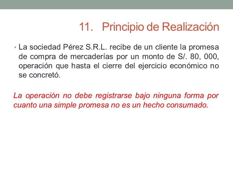 11. Principio de Realización