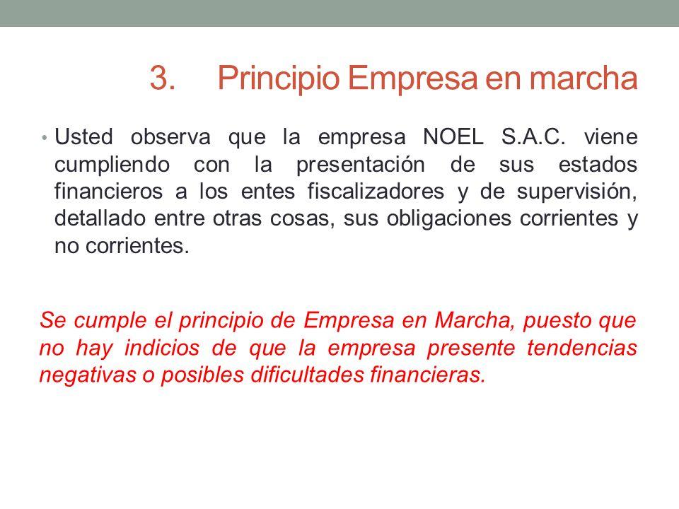 3. Principio Empresa en marcha