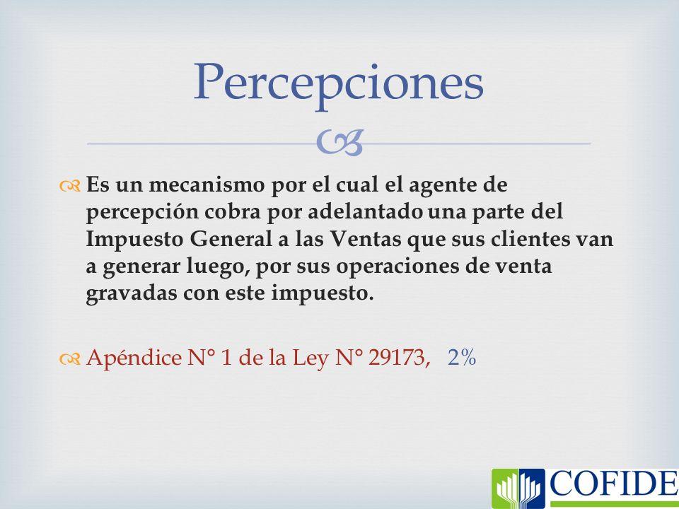 Percepciones