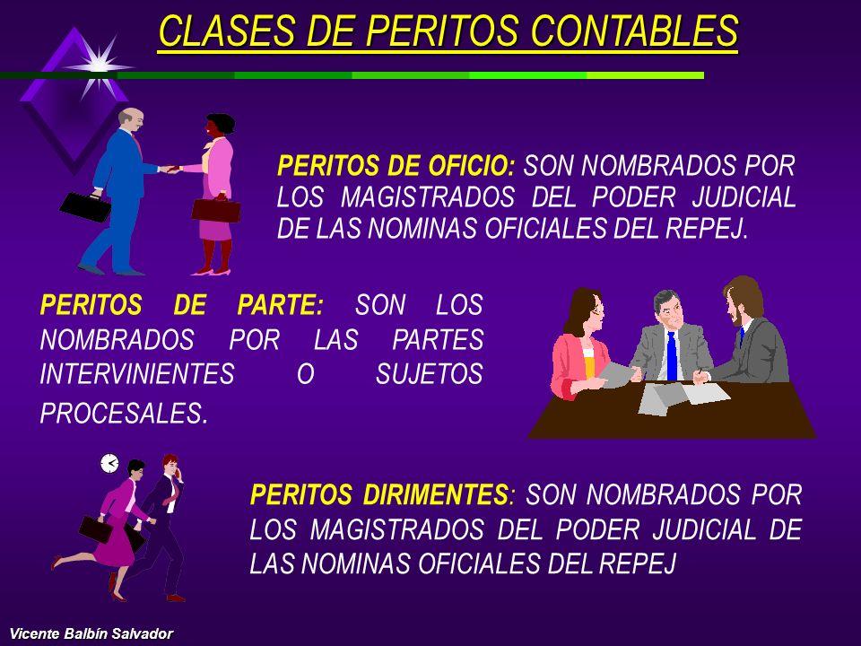 CLASES DE PERITOS CONTABLES