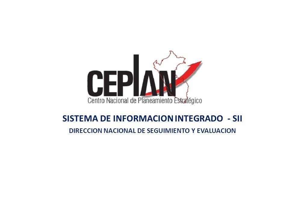 SISTEMA DE INFORMACION INTEGRADO - SII