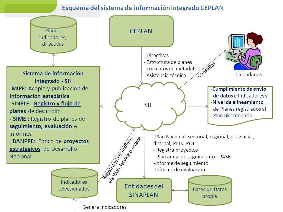 Sistema de información integrado - SII