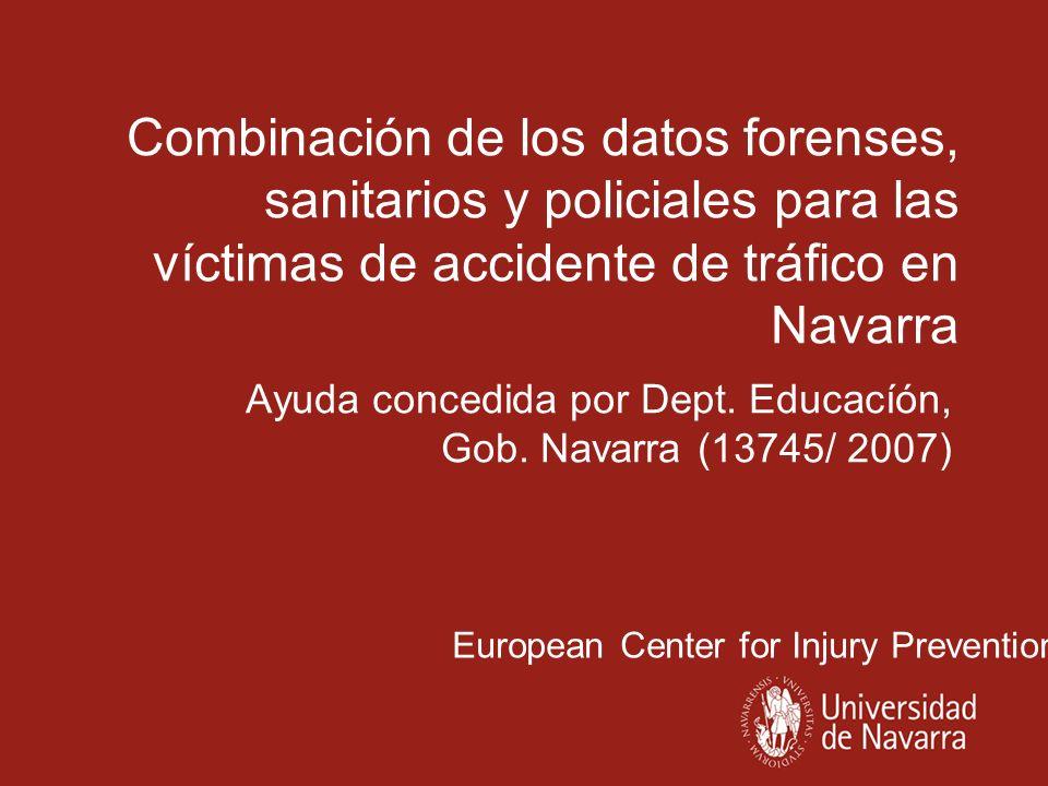 Ayuda concedida por Dept. Educacíón, Gob. Navarra (13745/ 2007)