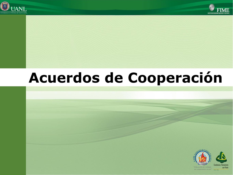 Acuerdos de Cooperación