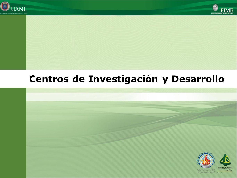 Centros de Investigación y Desarrollo