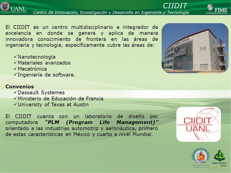 CIIDITCentro de Innovación, Investigación y Desarrollo en Ingeniería y Tecnología.