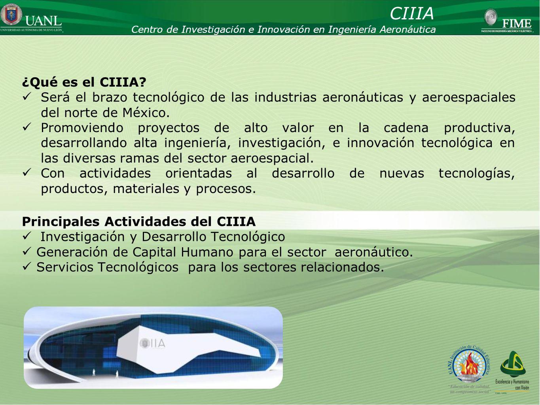 CIIIA Centro de Investigación e Innovación en Ingeniería Aeronáutica. ¿Qué es el CIIIA