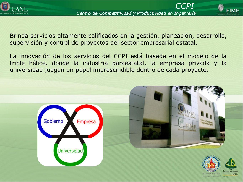 CCPI Centro de Competitividad y Productividad en Ingeniería.