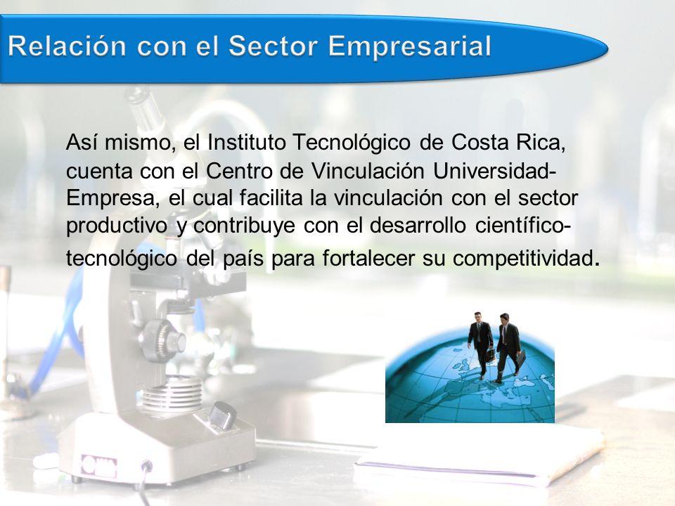 Relación con el Sector Empresarial