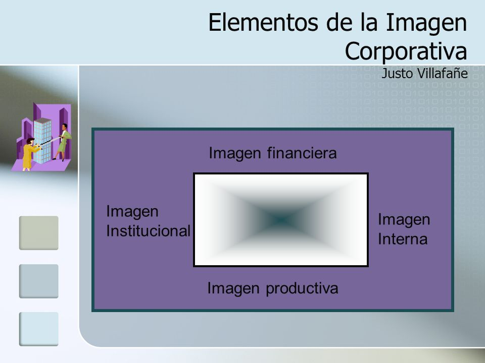 Elementos de la Imagen Corporativa Justo Villafañe