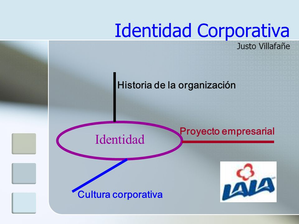 Identidad Corporativa Justo Villafañe