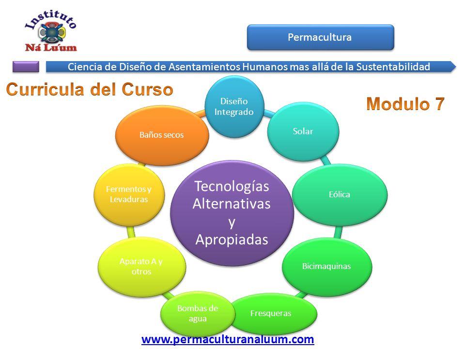 Tecnologías Alternativas y Apropiadas