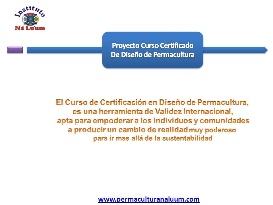 Proyecto Curso Certificado De Diseño de Permacultura