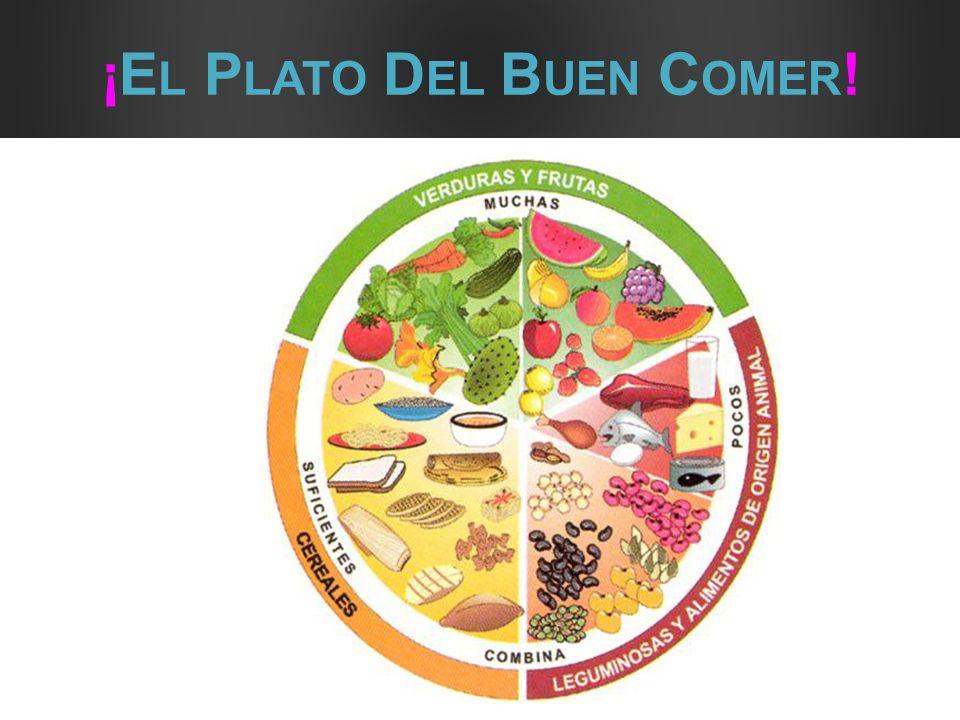 ¡El Plato Del Buen Comer!