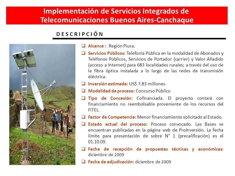 Implementación de Servicios Integrados de